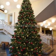 Premium Weihnachtsbaum H.500cm mit LED,Kugeln-------------------------