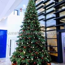 premium weihnachtsbaum h.600cm mit led,kugeln